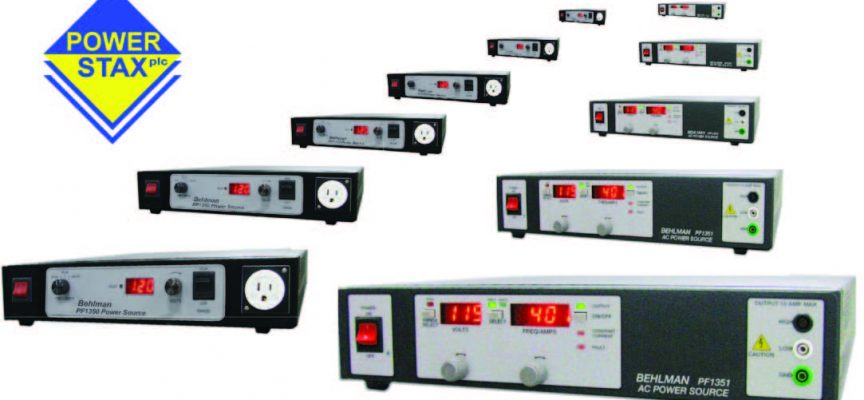 Power supply range launched for critical industrial projects