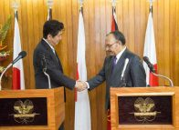 Ports plans announced as Japanese Navy visits Port Moresby