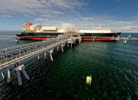 Papua carrier arrives at PNG LNG project