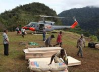 Kokoda gets largest materials delivery
