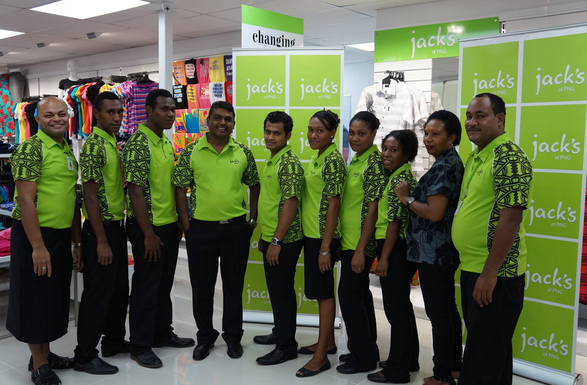 Jack\'s makes PNG debut | PNG Resources