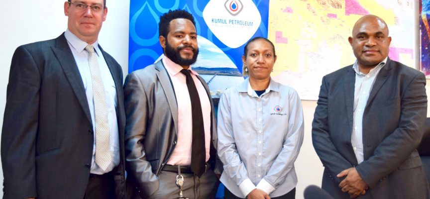 PNG pair attend world class oil and gas programme in Spain
