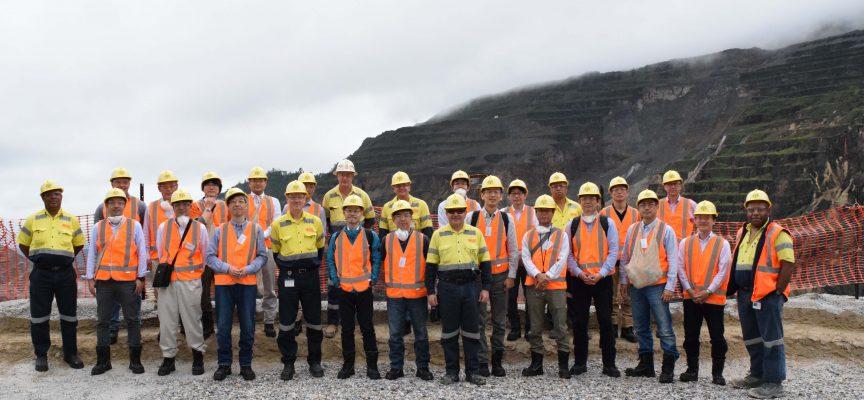 OTML celebrating 30 years of copper shipments to Japan