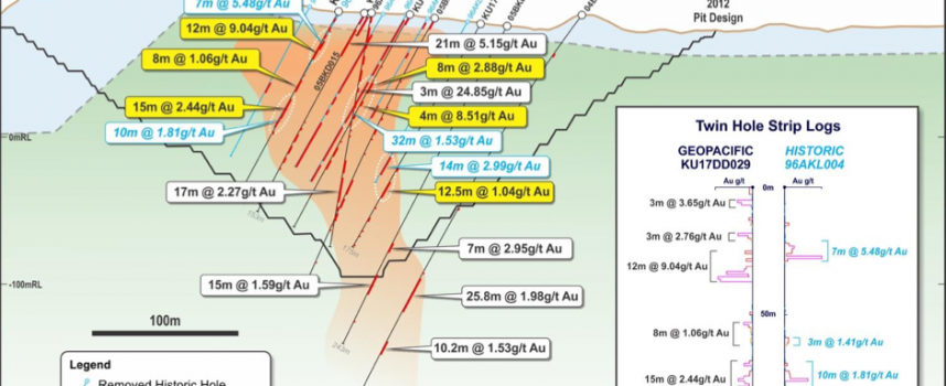 Geopacific continues to build momentum at Woodlark Gold Project