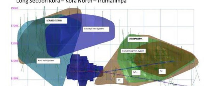 K92 announces updated resource for Kora North