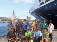 Rabaul tour operators pitch ideas to cruise passengers