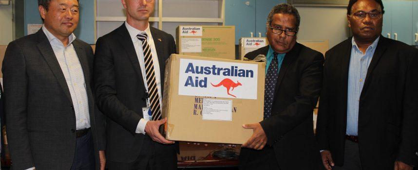 Australia backs PNG's COVID-19 preparations