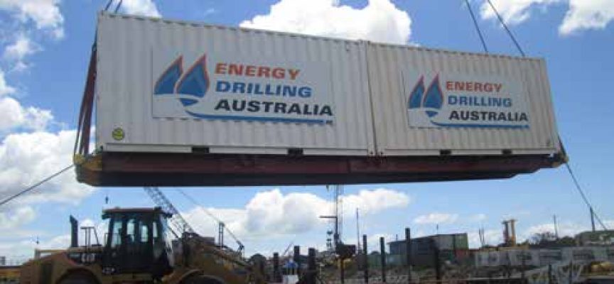 Energy Drilling Australia secures first international contract