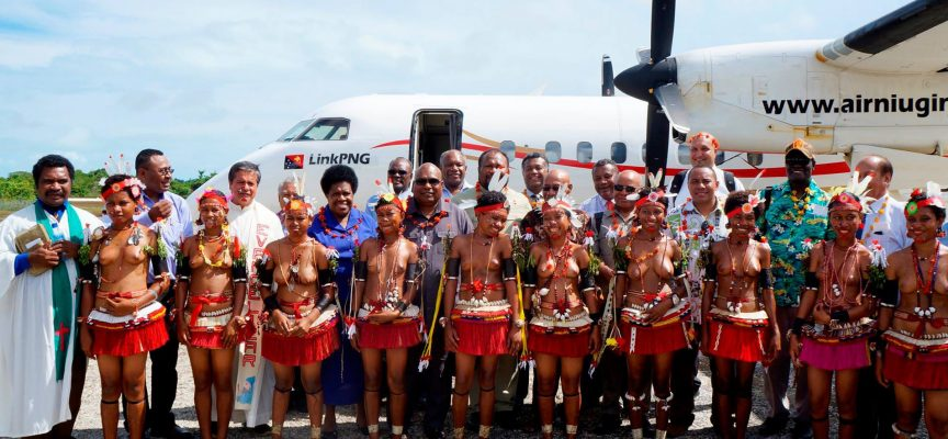 Link PNG launches Kiriwina service