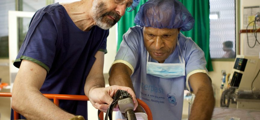 Medical assistance and training for PNG