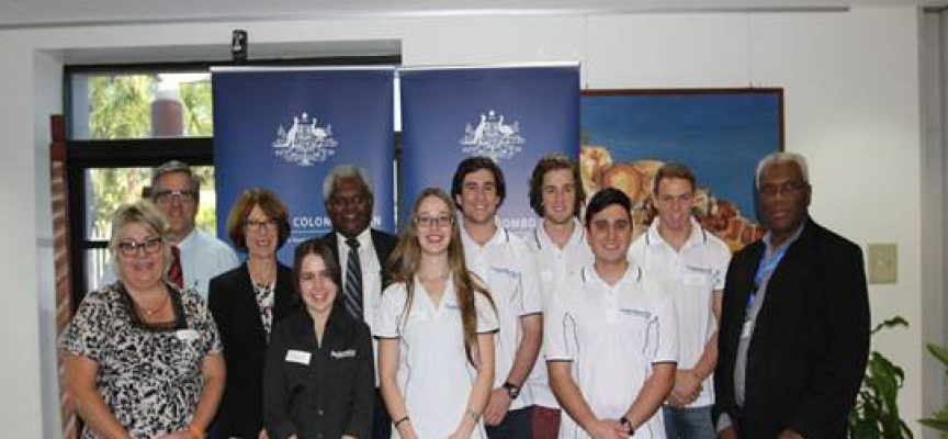 Teaching students arrive in Kokoda