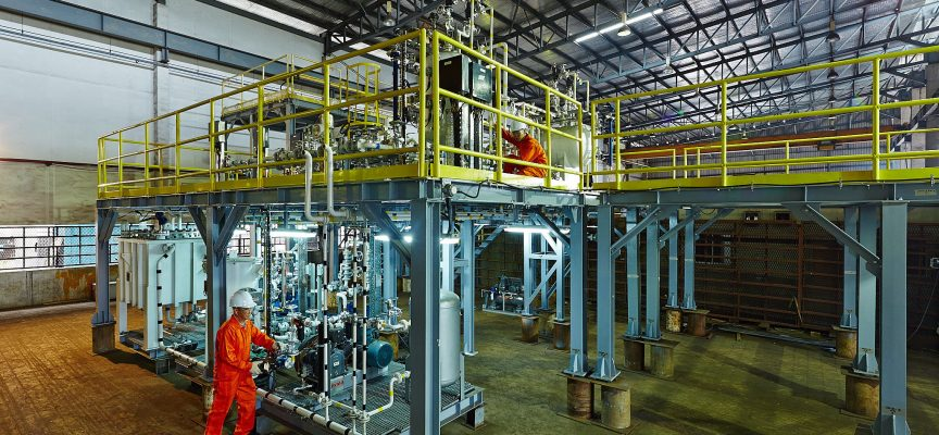 Training process plant to be built in PNG as Site continues expansion
