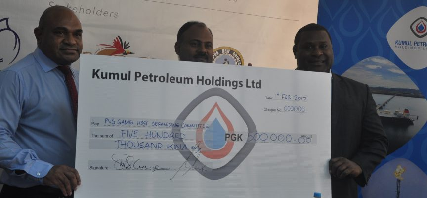 Kumul Petroleum Holdings takes up gold sponsorship of PNG Games
