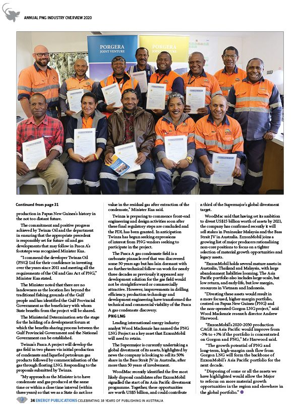 PNG Annual Industry Overview 2020 – 36