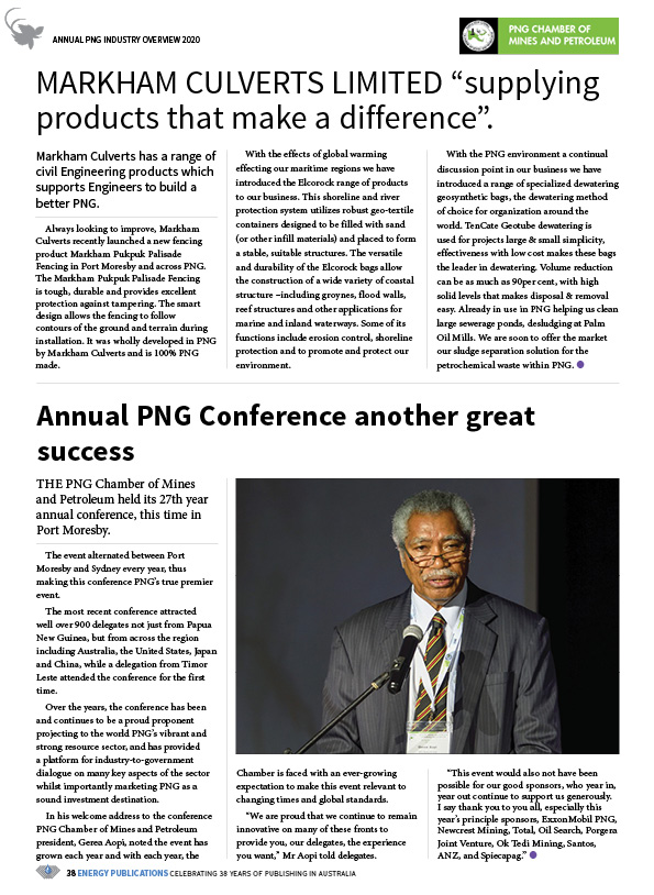 PNG Annual Industry Overview 2020 – 40