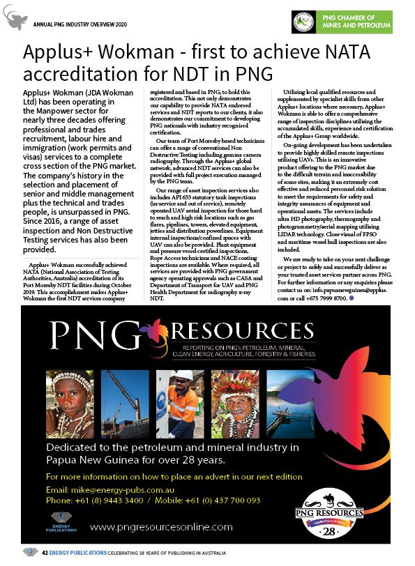 PNG Annual Industry Overview 2020 – 44