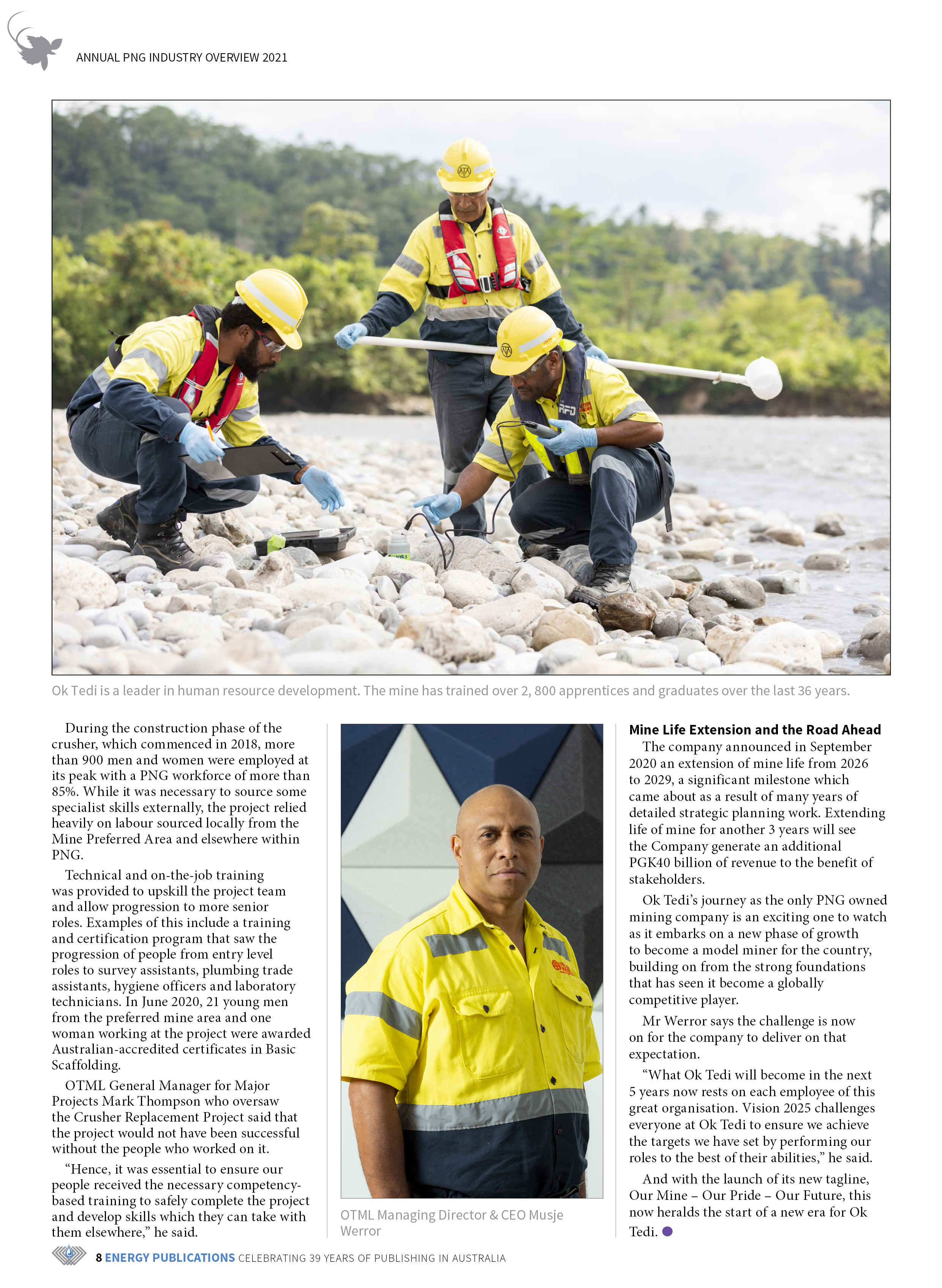 PNG Annual Industry Overview 2021 – Page 10