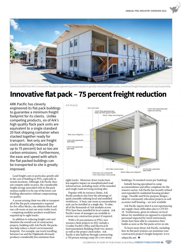 PNG Annual Industry Overview 2021 – Page 43