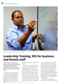 PNG Annual Industry Overview 2021 – Page 44