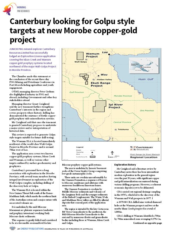 PNG Resources Q1 2020 – Page 22