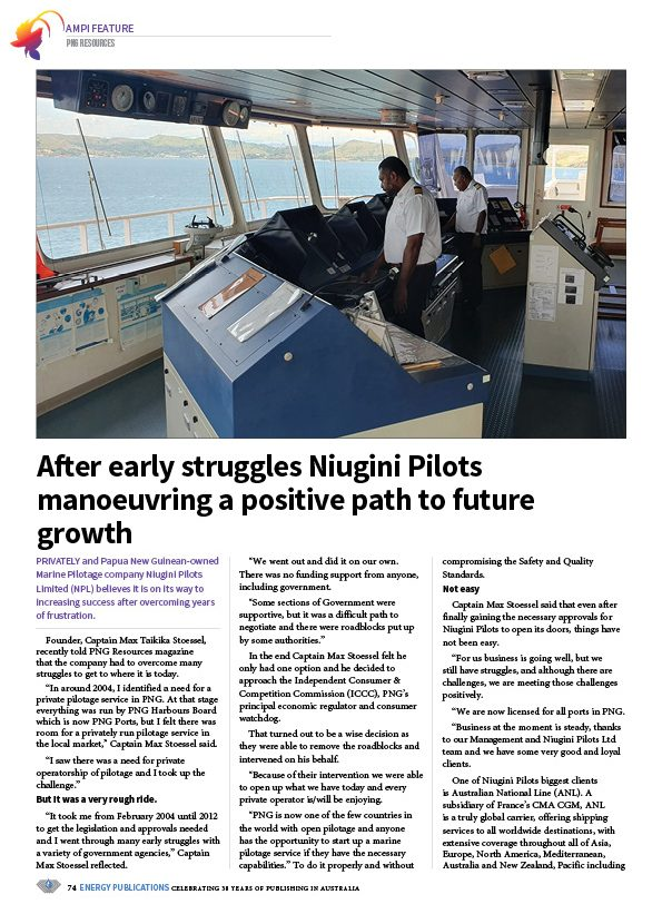 PNG Resources Q1 2020 – Page 76