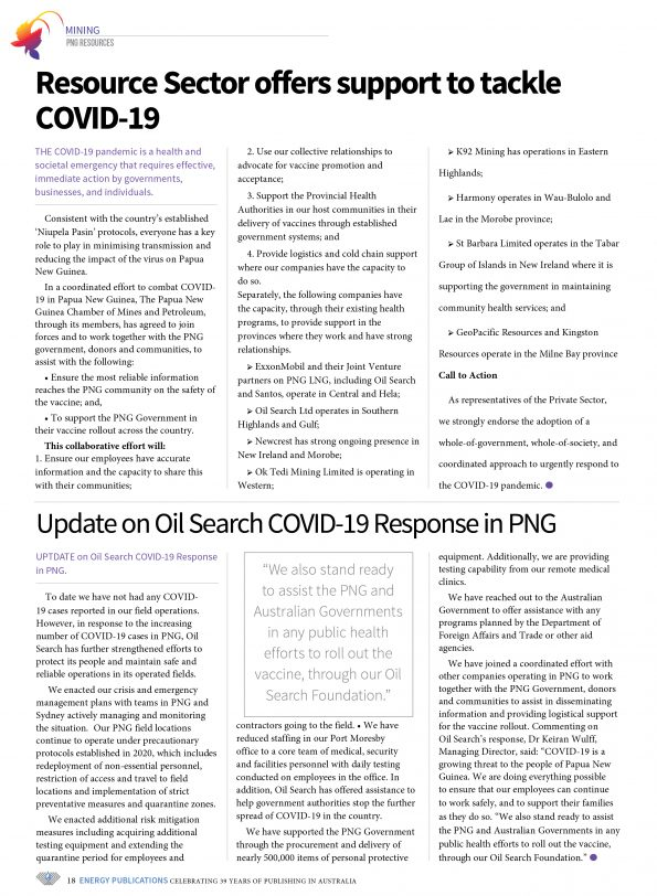PNG Resources Q1 2021 – Page 20