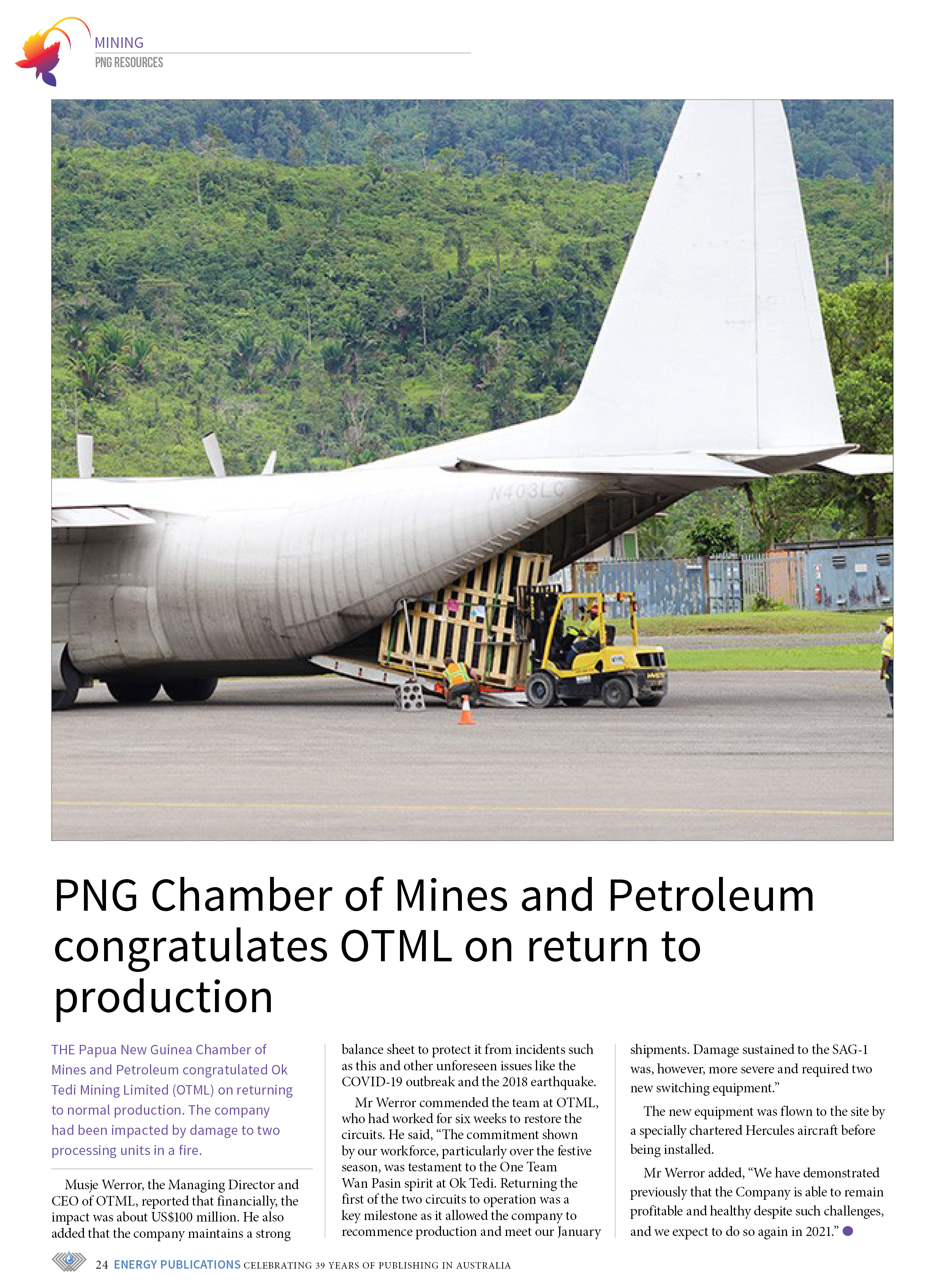PNG Resources Q1 2021 – Page 26