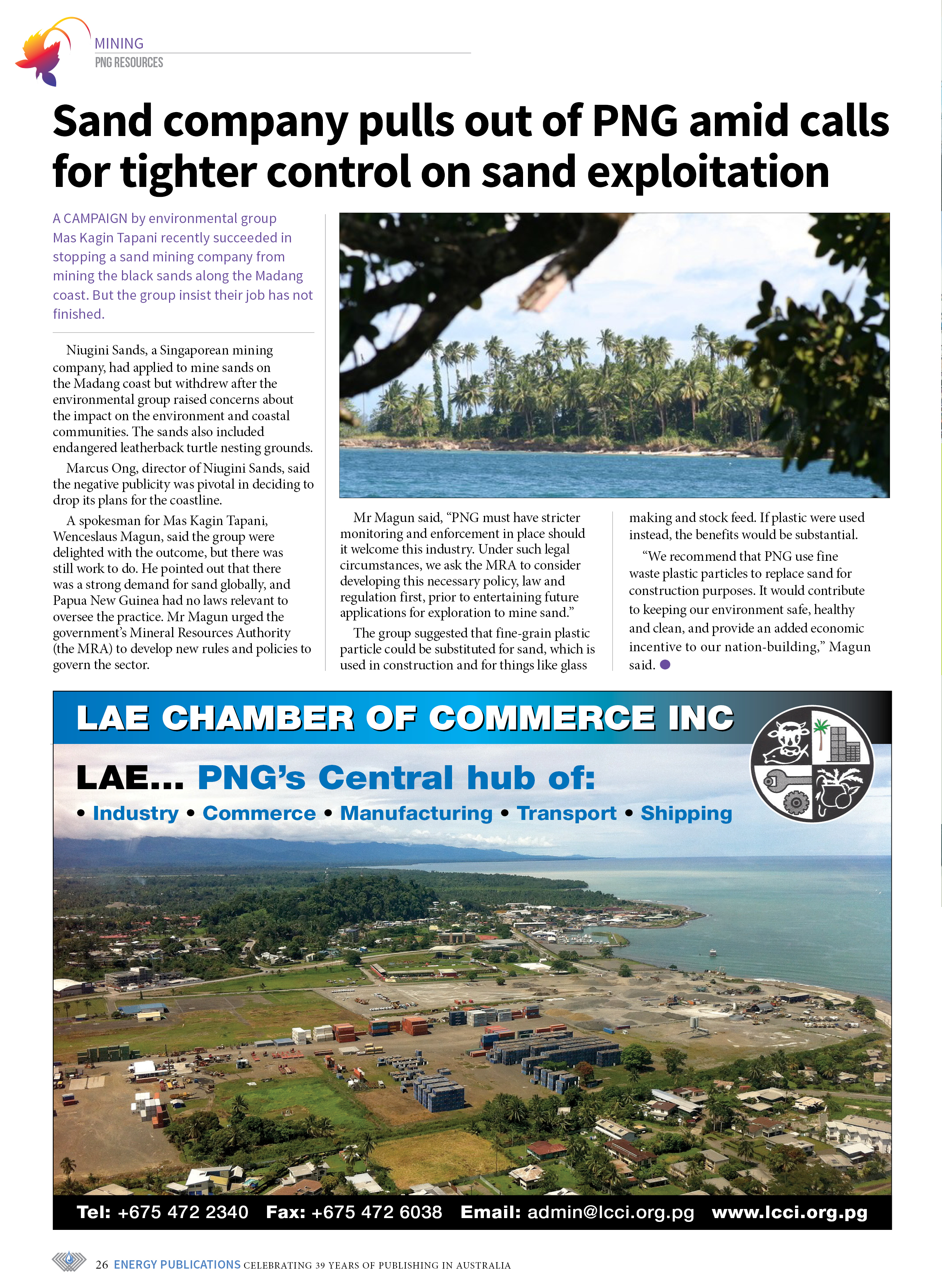 PNG Resources Q1 2021 – Page 28