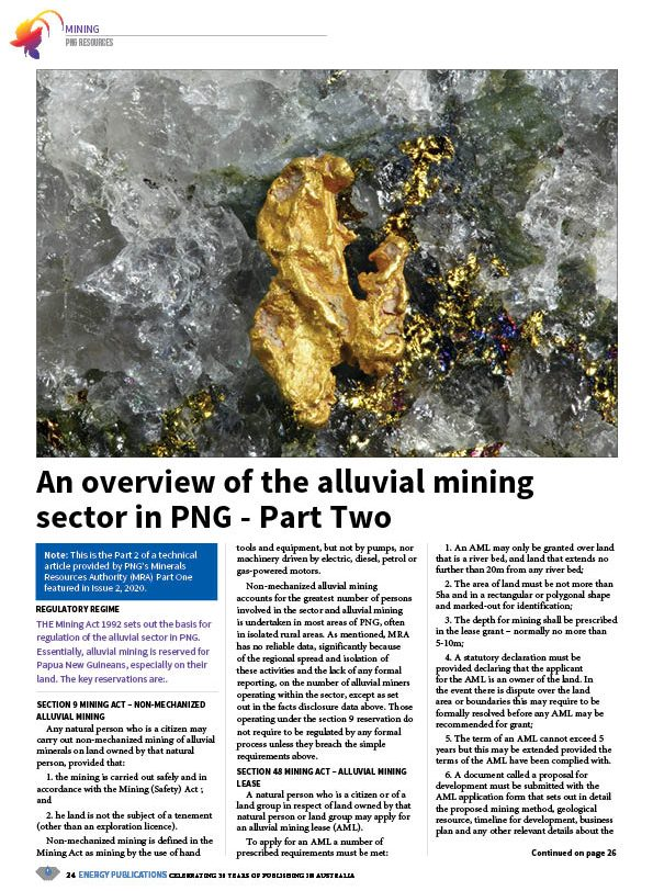 PNG Resources Q3 2020 – Page 26