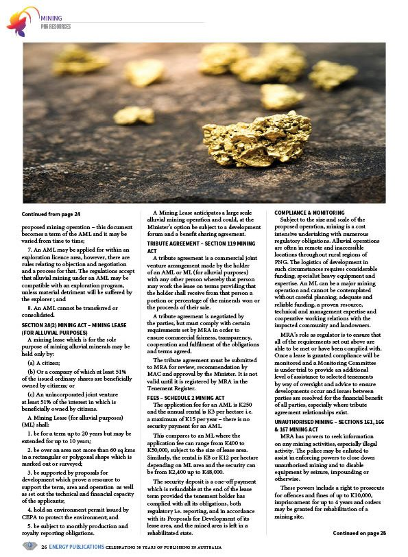 PNG Resources Q3 2020 – Page 28