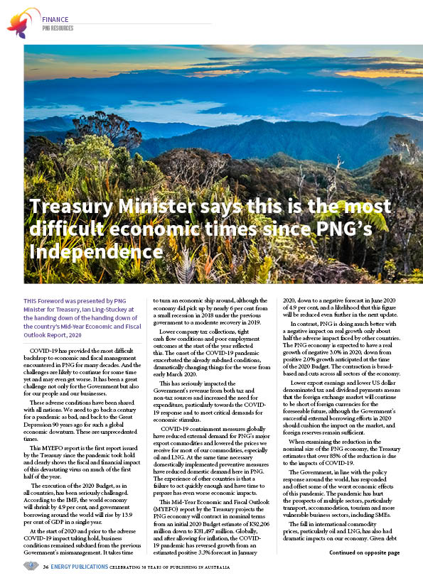 PNG Resources Q3 2020 – Page 38