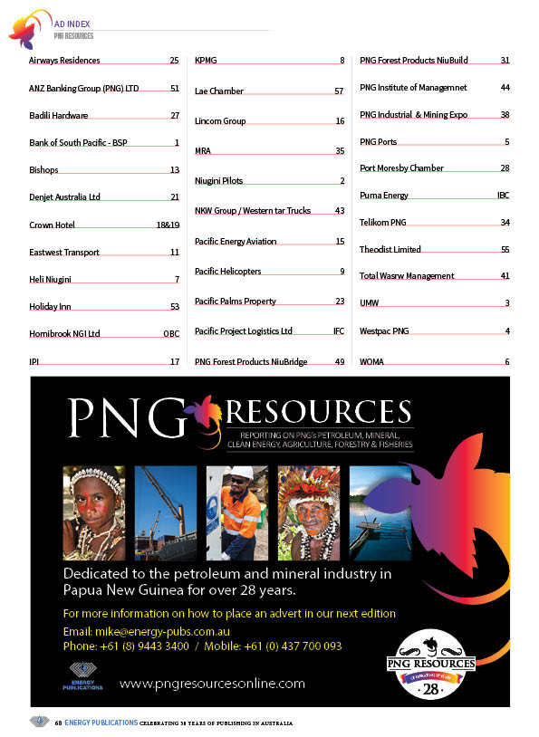 PNG Resources Q3 2020 – Page 70