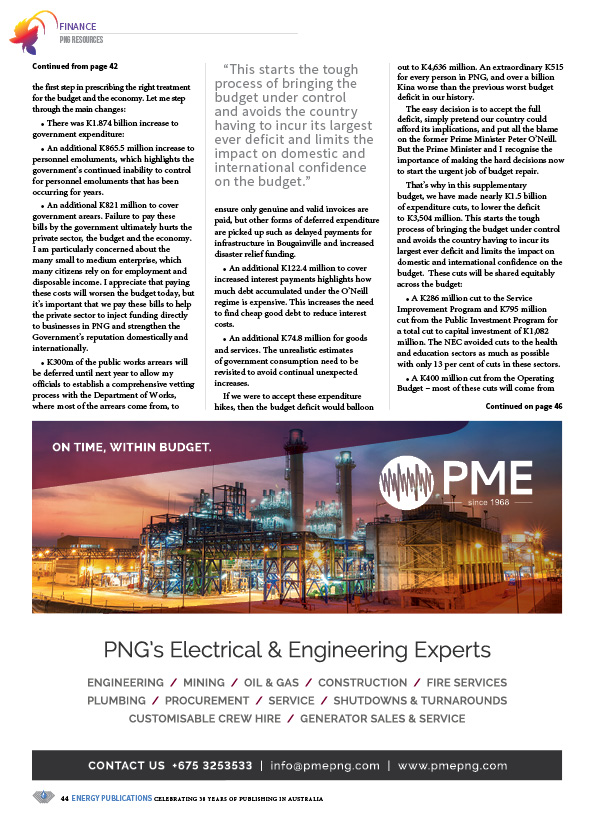 PNG Resources Q4 2019 – 46