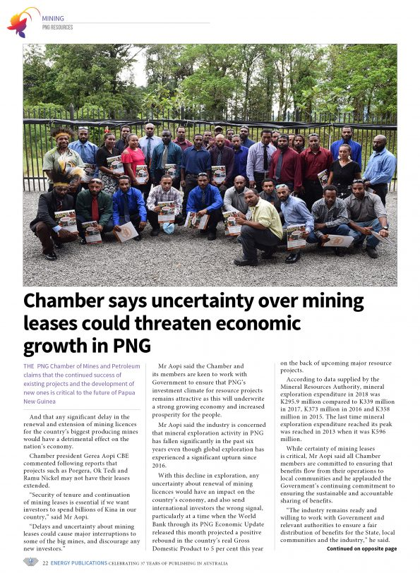 PNG Resources Q1 2019 – Page 24