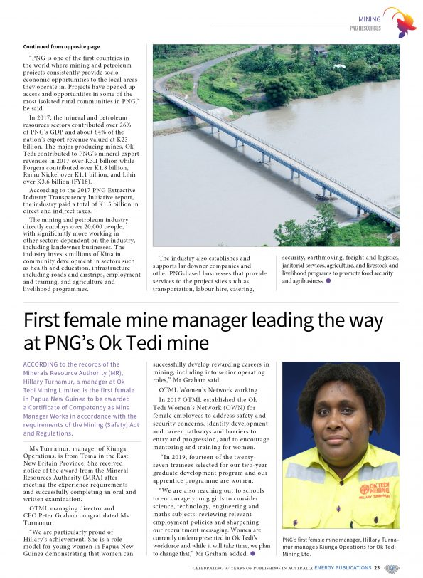 PNG Resources Q1 2019 – Page 25
