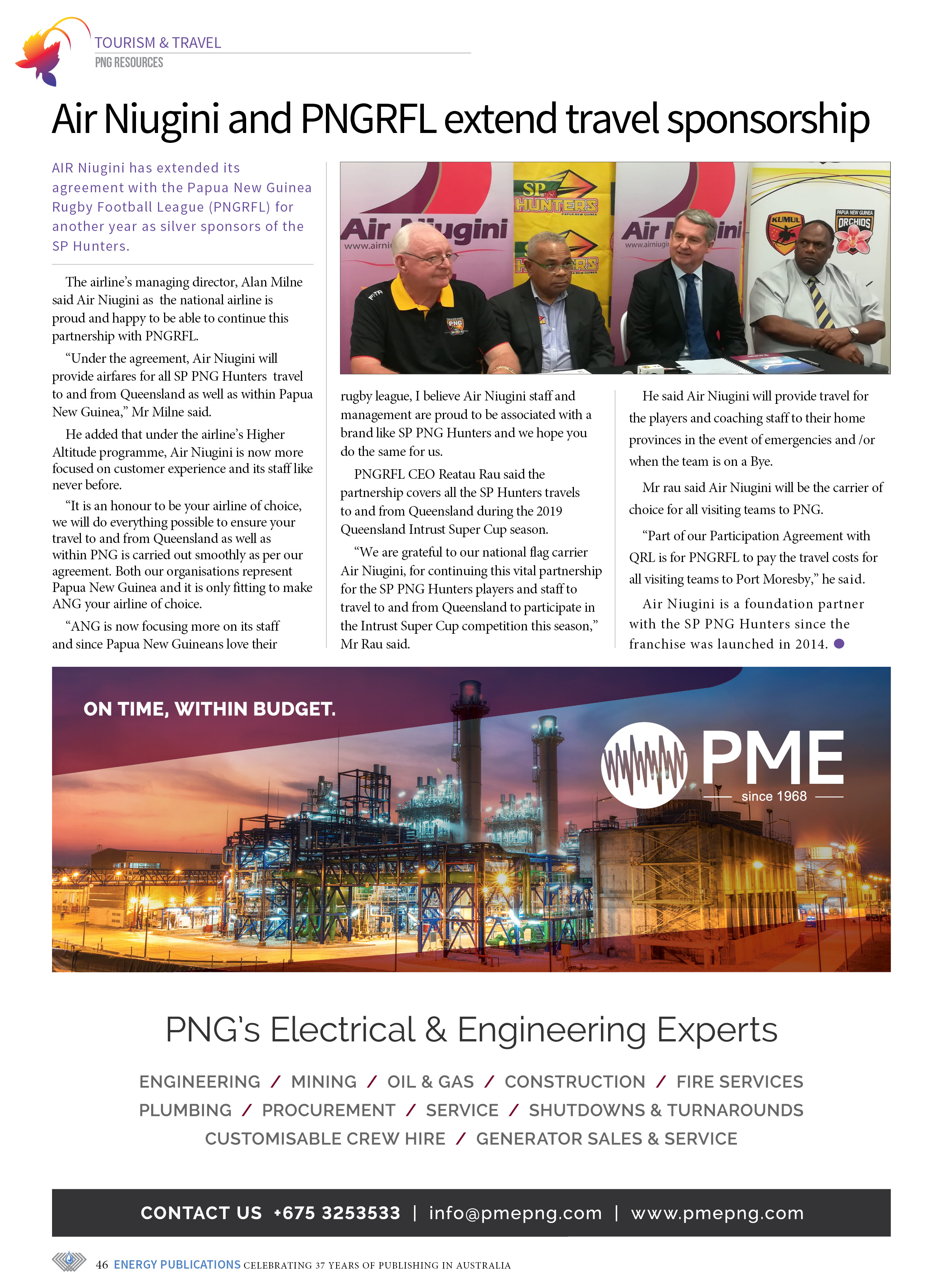 PNG Resources Q1 2019 – Page 48