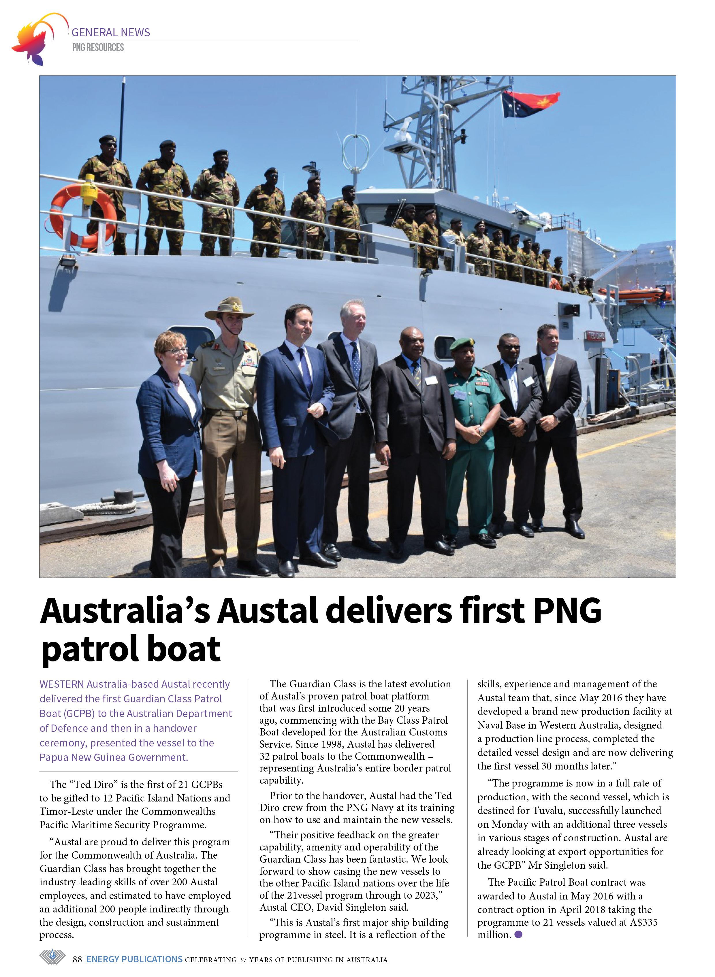 PNG Resources Q1 2019 – Page 90