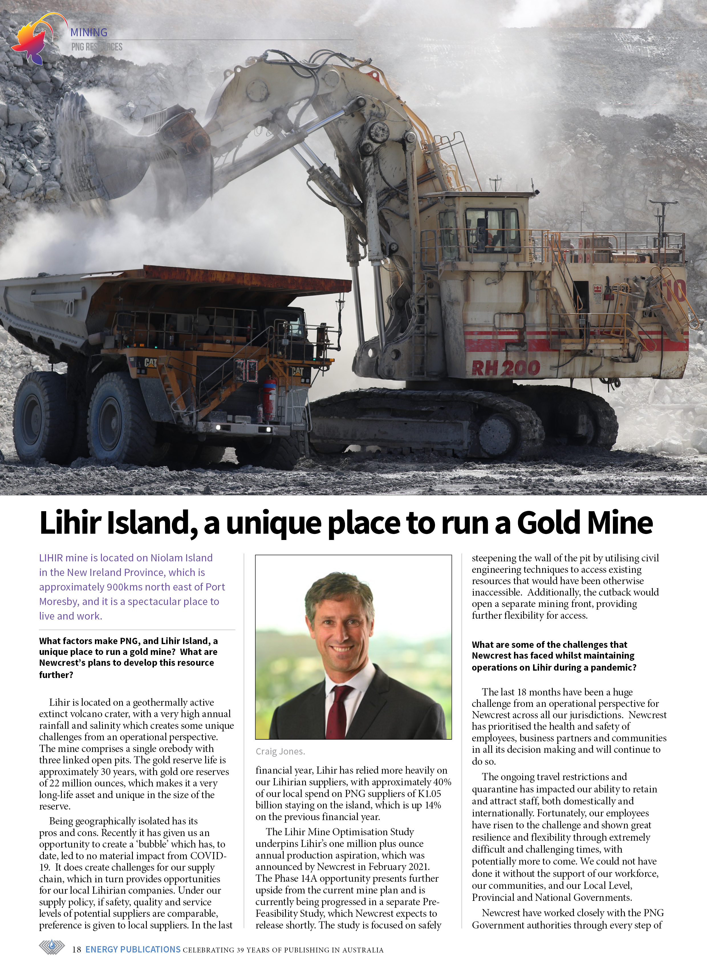 PNG Resources Q3 2021 – Page 20