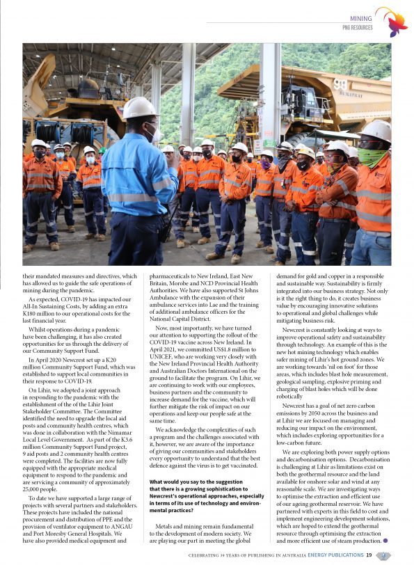 PNG Resources Q3 2021 – Page 21
