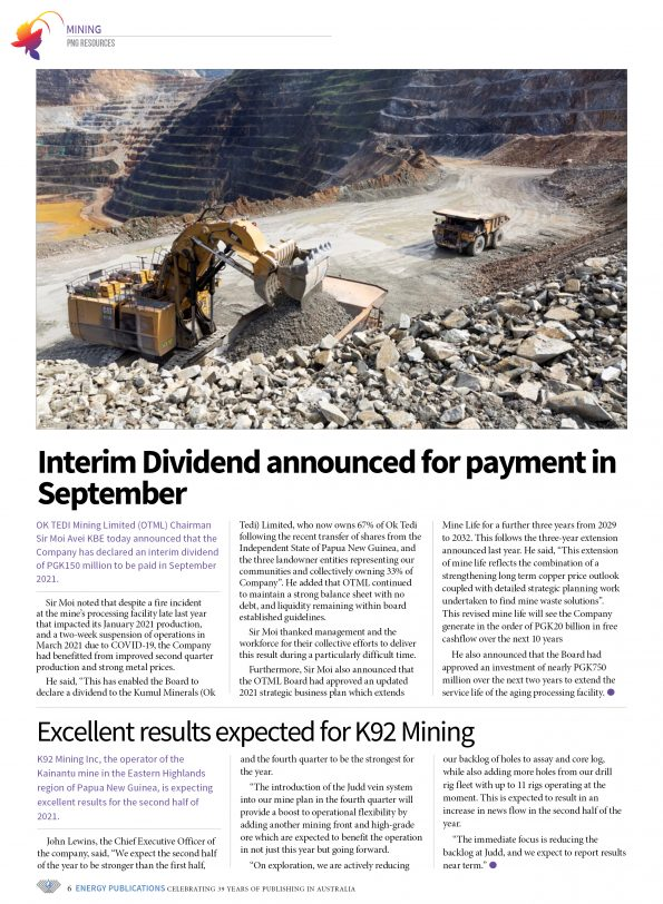 PNG Resources Q3 2021 – Page 8