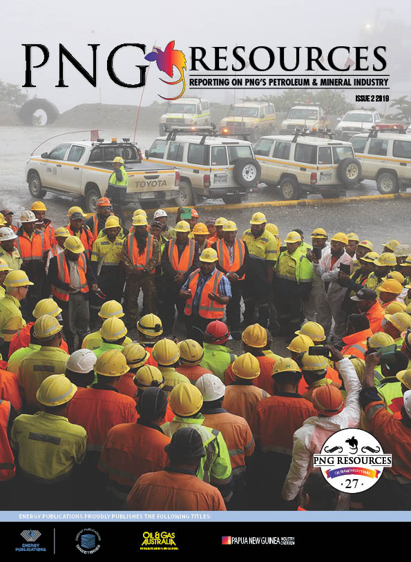 PNG Resources Q2 2019 Cover
