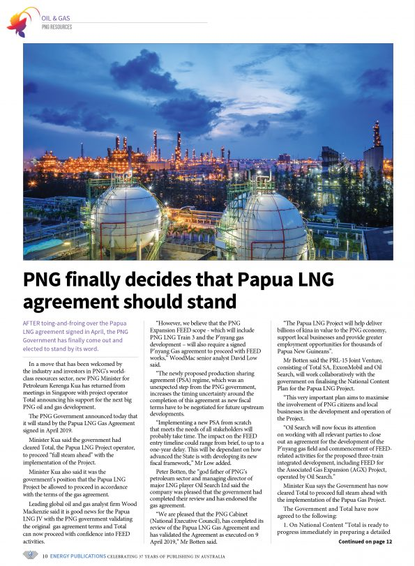 PNG Resources Q3 2019 – 12