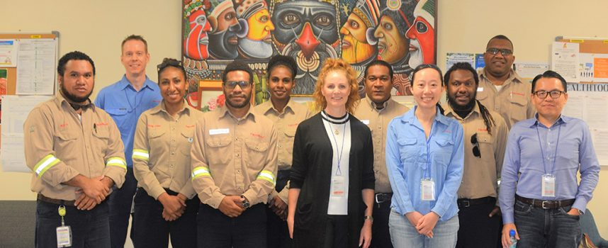 PNG LNG supports Society of Petroleum Engineers 2020 President's visit to PNG