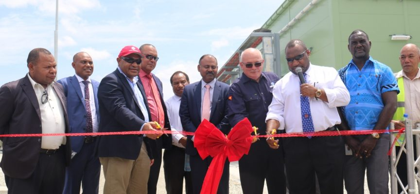 Major milestone for PNG domestic power with launch of Niupower Gas Plant