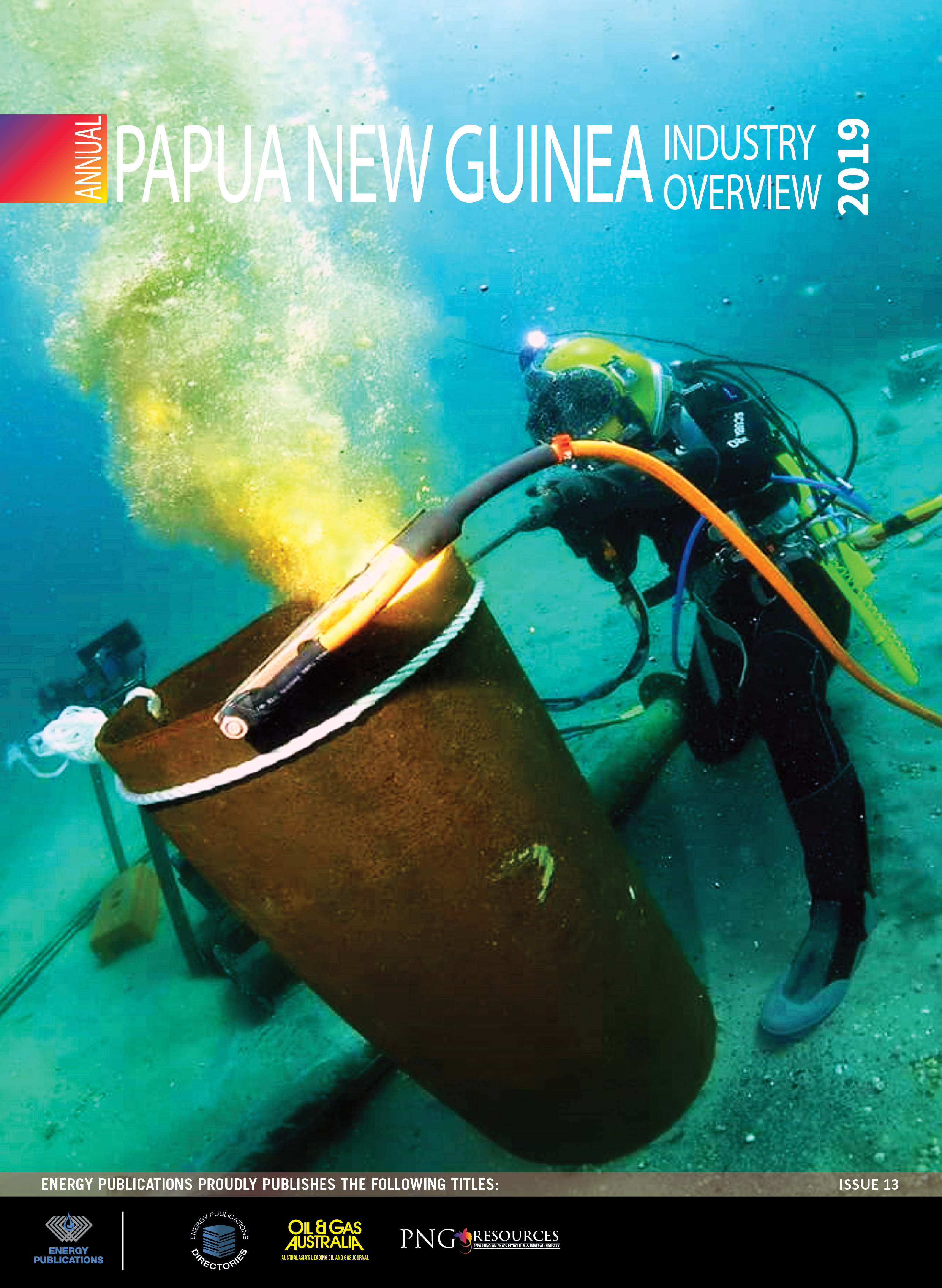 PNG Annual Overview 2019 – Cover