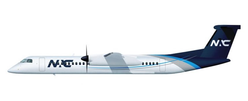NAC delivers De Havilland Dash 8-400 to Link PNG