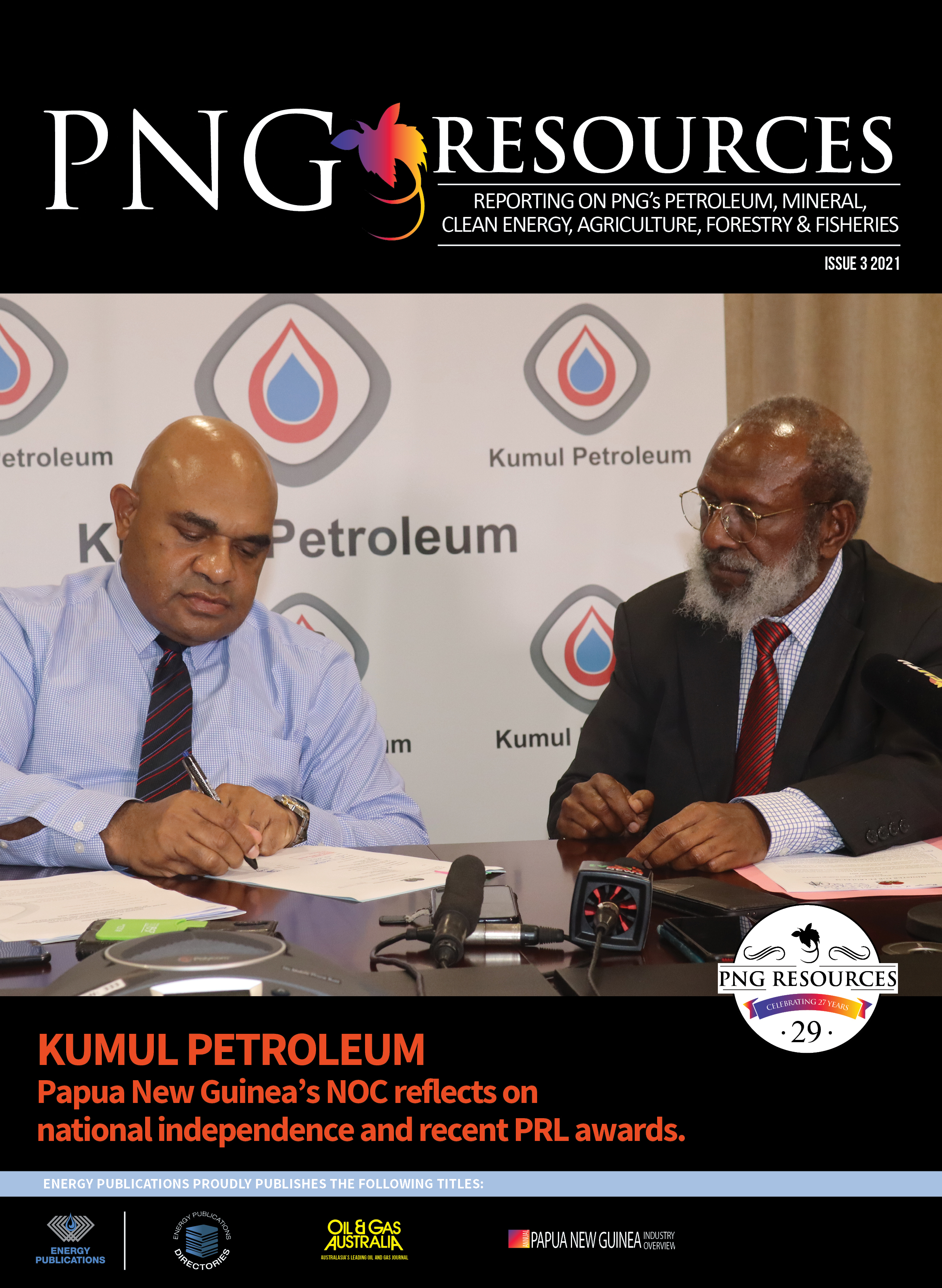 PNG Resources Q3 2021 – Cover